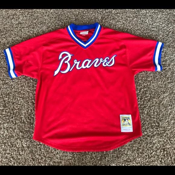4387e1375 Dale Murphy Atlanta Braves baseball jersey. M 5a81e65636b9de47236a0795